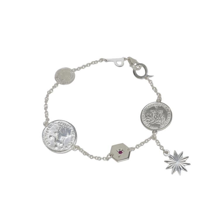 silver-gypsy-charm-bracelet